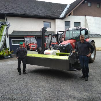 Familie Lechner: CLAAS CORTO 310 F