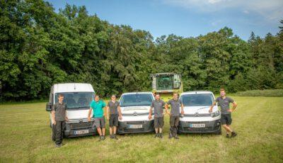 Serviceteam und Servicefahrzeuge Pongruber Landtechnik